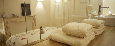 Maison d'hôtes à Bruxelles, Chambre d'hôte 1 salle de bain, ascenseur, airco