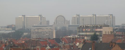 Brussels Guesthouse with splendid view on Brussels
