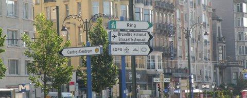 Nach unsere Gasthaus im Brüssel