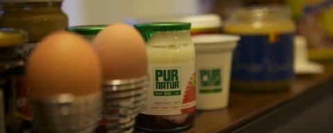 B&B Brussel, ontbijt met biologische en streek producten